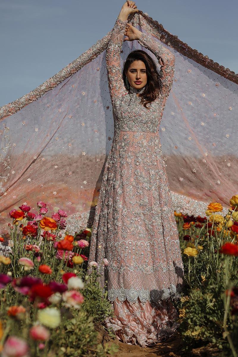 Picture of Blush pink kalidaar